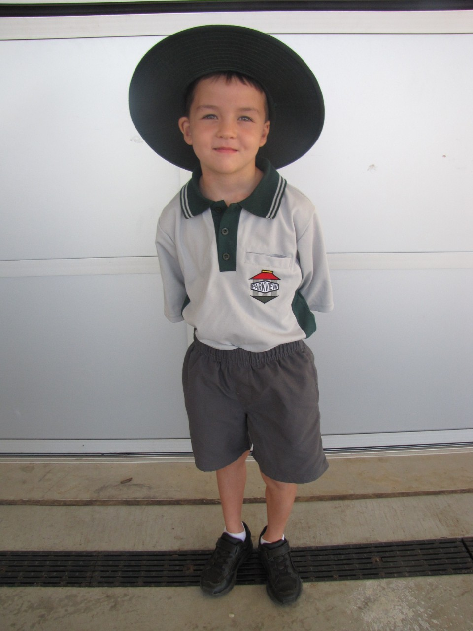 Boys Summer Uniform and hat
