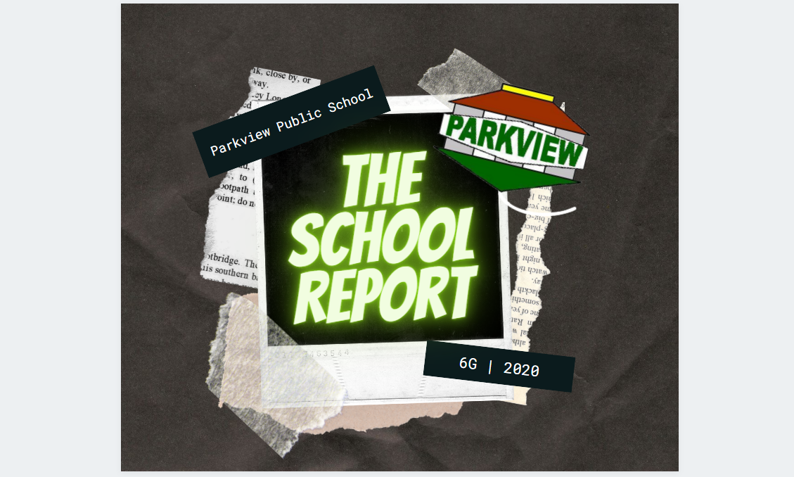 The School Report - Term 3 Week 9 2020